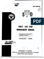 DoD 4140.27-M Shelf Life Management