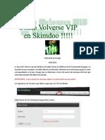 Manual Vip Skimdoo V2