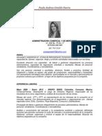 Hoja de Vida Paola Andrea Giraldo Actualizada 2012[2]