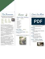 Resurrection.3 Fold Worksheet