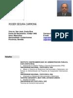 ROGER SEGURA CORREO ELECTRONICO