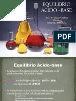 EQUILIBRIO ÁCIDO –BASE