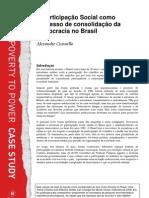 FP2P Brazil Social Participation as Democracy CS PORTUGUESE