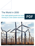 world in 2050 carbon emissions