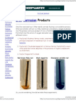 Iron Corrosion Products