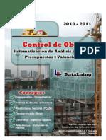 Manual Apu Control de Obras 2011