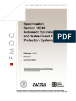 15310 Automatic Sprinklers and Water Based Fire Protection Systems