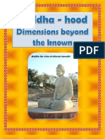 Buddhahood Dimensions Beyond the Known