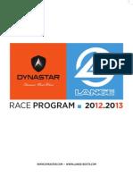 Racing Program Dynastar-Lange 2012-13
