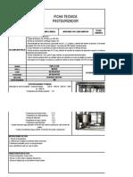 Ficha Tecnica Pasteurizadora