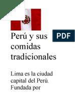Perú y sus comidas tradicionales
