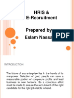 Presentation e Recruitment&HRIS