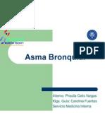Asma Bronquial Disertacion Internado