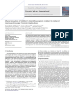 Characterization of Children's Latent Fingerprint Residues by Infrared