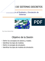 Class 01 Modeling and Simulation