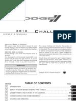 2012 Challenger SRT OM 2nd