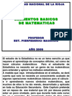 Elementos de Matematicas 2009