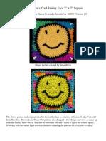 SmoothFox Cool Smiley Face 7 x 7