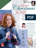 Trading Christmas Scarf