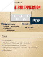 5- Etamage Par Immersion