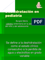 Deshidratación en pediatría para el final final