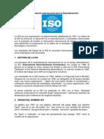 Qué es ISO