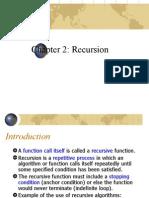 Chap 2 Recursion