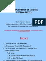 Abordaje Medico de Lesiones Discapacitantes