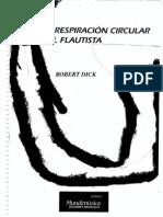 La Respiracion Circular en El Flautista - Robert Dick
