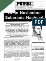 Patria Argentina numero 01-15