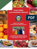 Food Safety Sanitation Manual