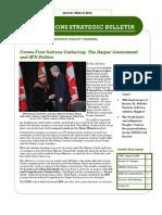 First Nations Strategic Bulletin Jan-Mar 2012