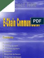 30. E-Chain Communicator_PPT.ppt
