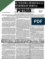 Patria Argentina numero 46-60