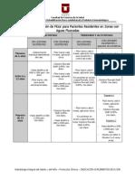 Protocolo Indicación de Fluor