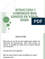 Structuras Visual Basic