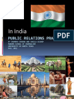 Public Relations Practices in India 2011 PPT