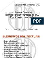 Estrutura Do Tcc