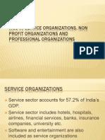 MCS in Service Organizations, Non Profit Organizations
