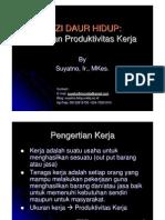 Gizi Dan Produktivitas Kerja