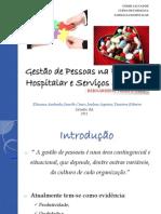 Gestão de Pessoas na Farmácia Hospitalar e Serviços de Saúde