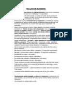 TÉCNICA DE RELAJACIÓN AUTÓGENA - 1