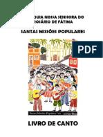 Livro CIFRAS SMP Paroquia NS Rosario Fatima