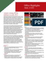 Atlanta Office Highlights Q1 2012