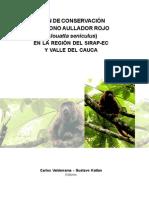 Plan de Conservación del Mono Aullador Rojo