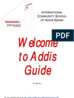 ICS Welcome to Addis Guide 3rd Edition