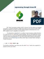 Kshitij Linux Programming 3