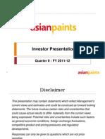 Sept 2011 Investor Presentation