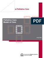 Palliative Care Model of Care