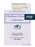 L Intelligence Existentielle Christophe Deville